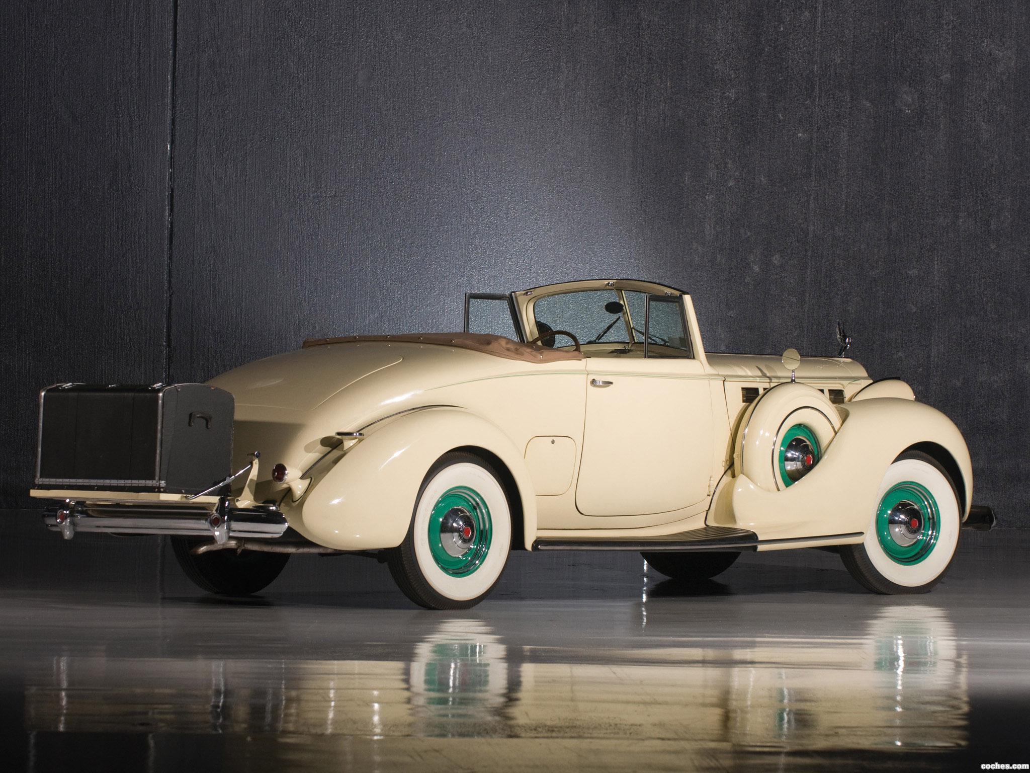 Foto 1 de Packard Super Eight Convertible Coupe 1938