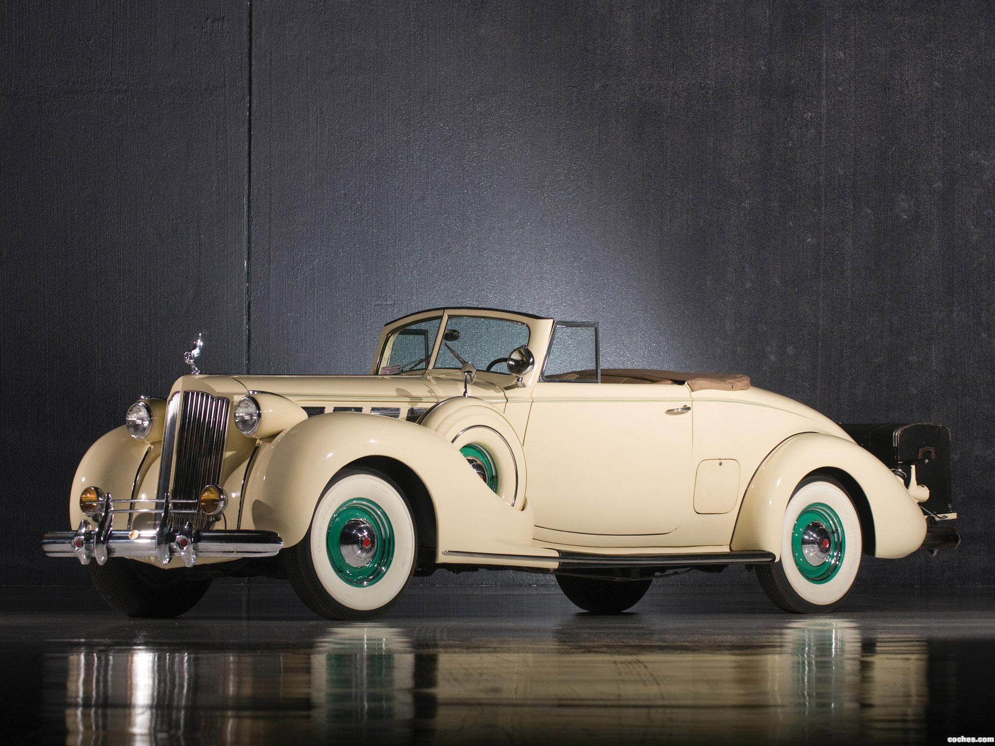 Foto 0 de Packard Super Eight Convertible Coupe 1938