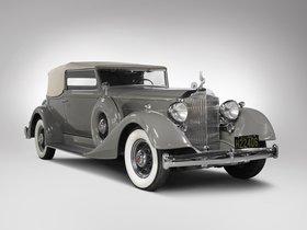 Ver foto 1 de Packard Super Eight Convertible Victoria 1934