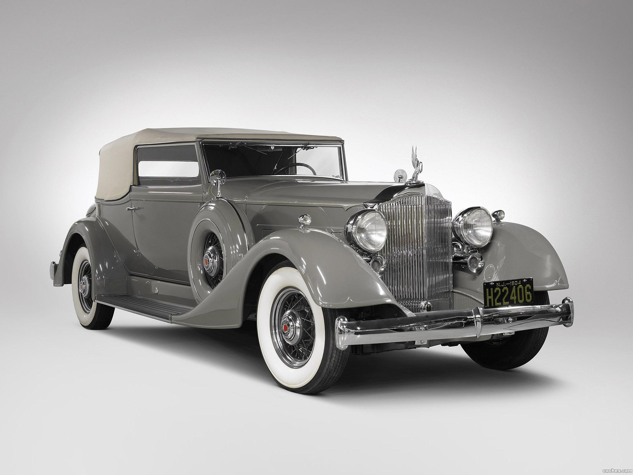 Foto 0 de Packard Super Eight Convertible Victoria 1934