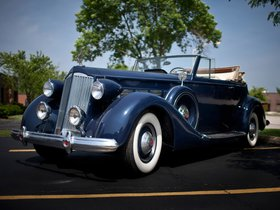 Ver foto 1 de Packard Super Eight Convertible Victoria 1937