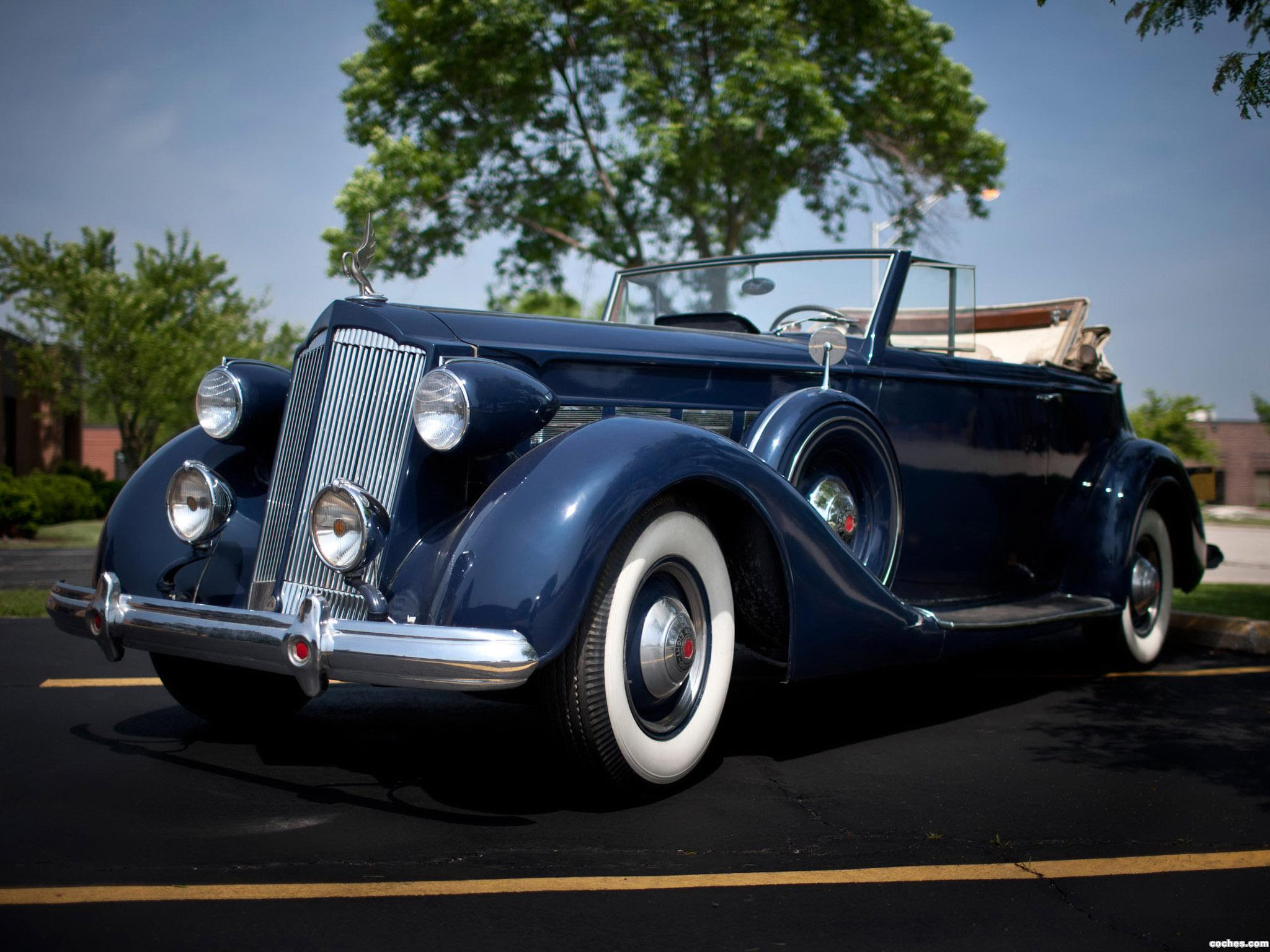 Foto 0 de Packard Super Eight Convertible Victoria 1937