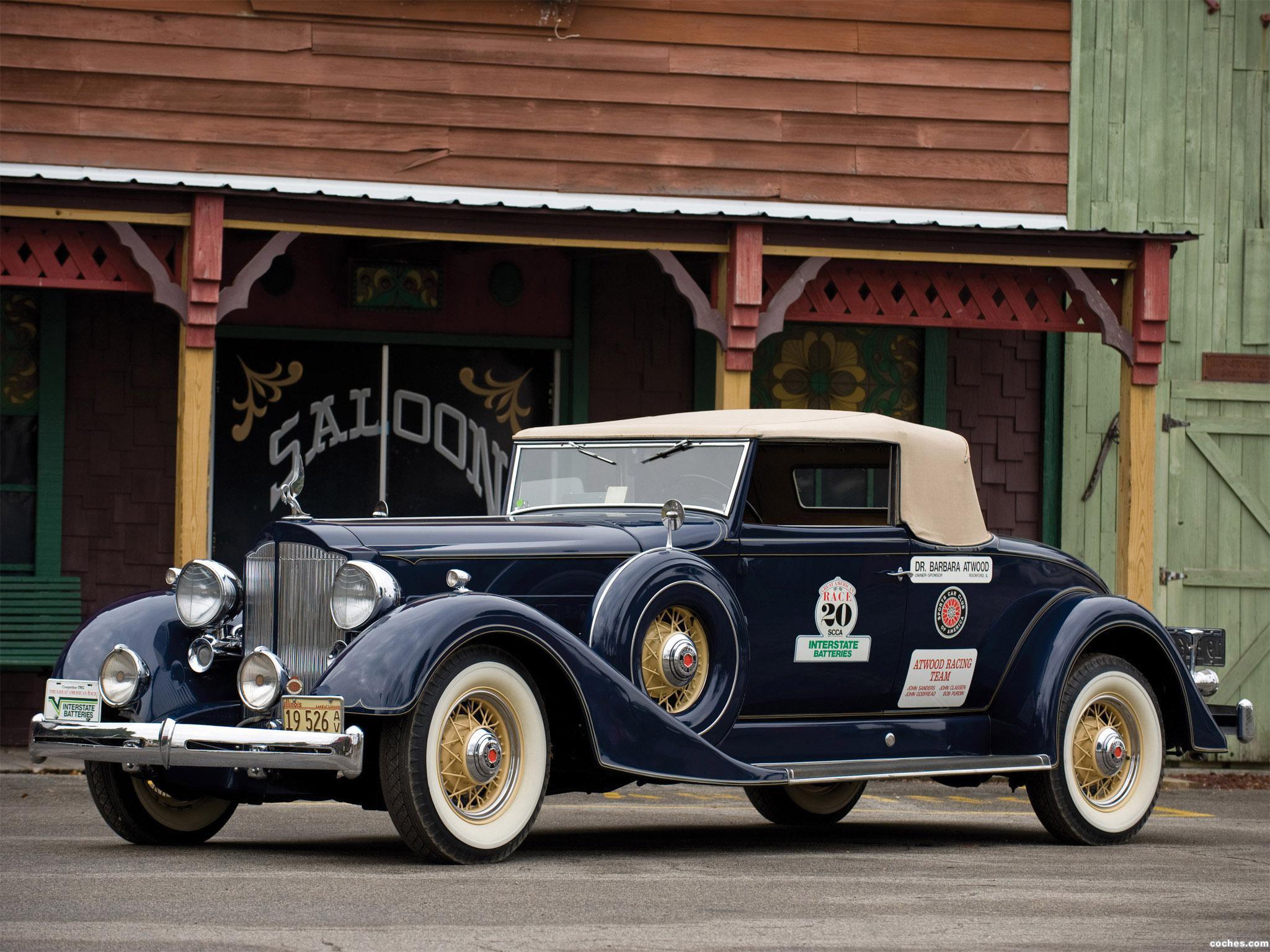 Foto 0 de Packard Super Eight Coupe Roadster 1934
