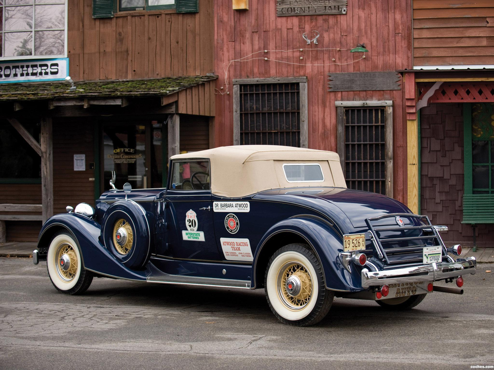 Foto 4 de Packard Super Eight Coupe Roadster 1934
