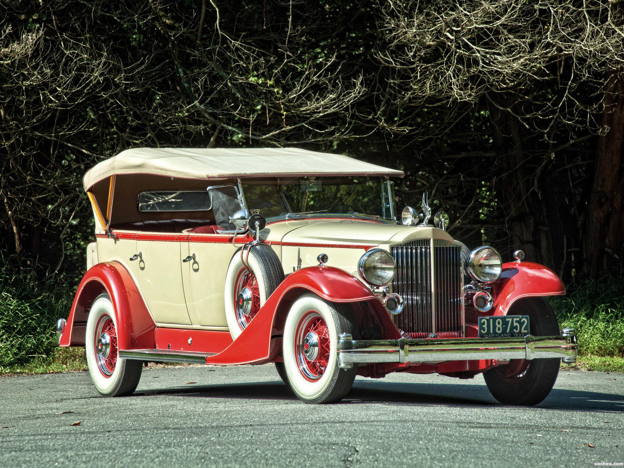 Foto 0 de Packard Super Eight Touring 1934