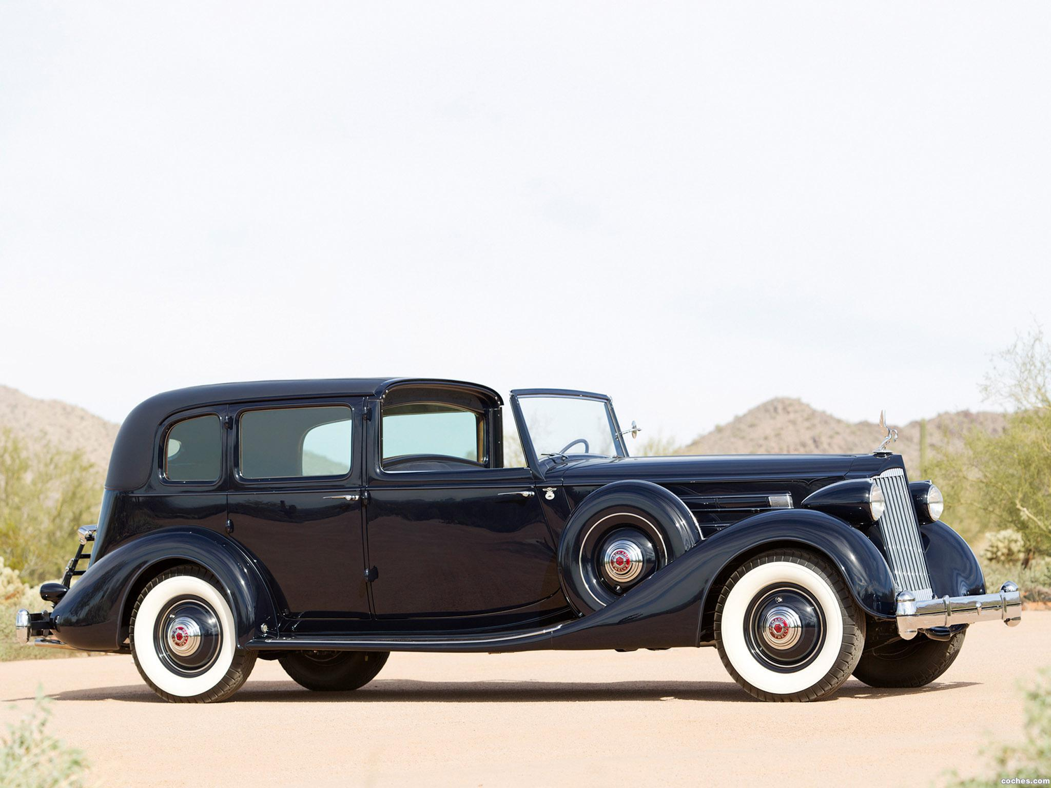 Foto 0 de Packard Twelve All Weather Town Car by Lebaron 1936