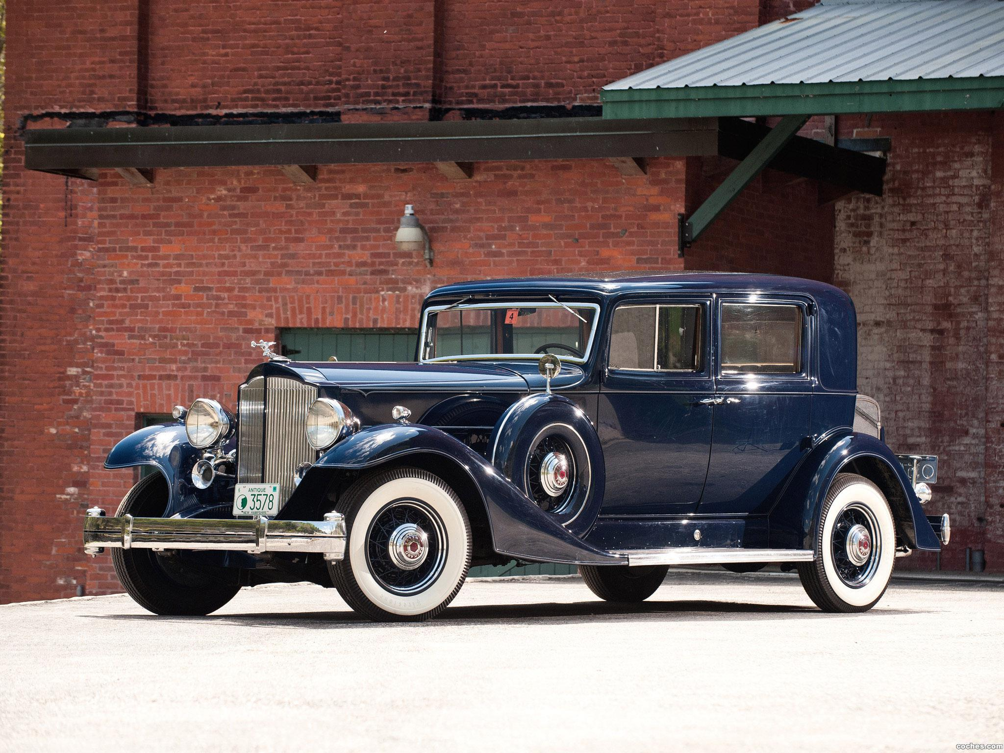 Foto 0 de Packard Twelve Club Sedan 1933