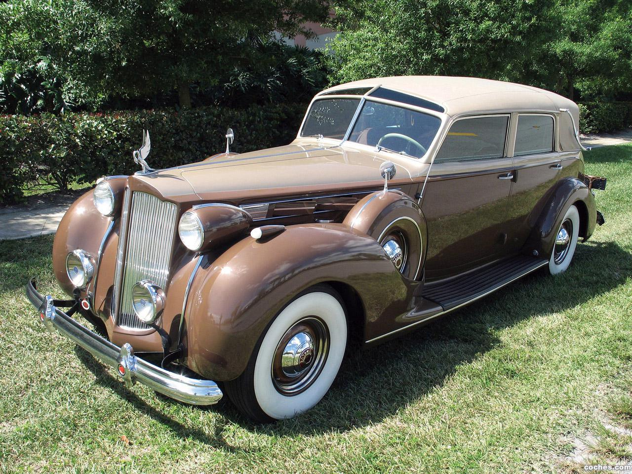 Foto 0 de Packard Twelve Collapsible Touring Cabriolet by Brunn 1938