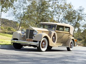 Fotos de Packard Twelve Convertible Sedan 1934