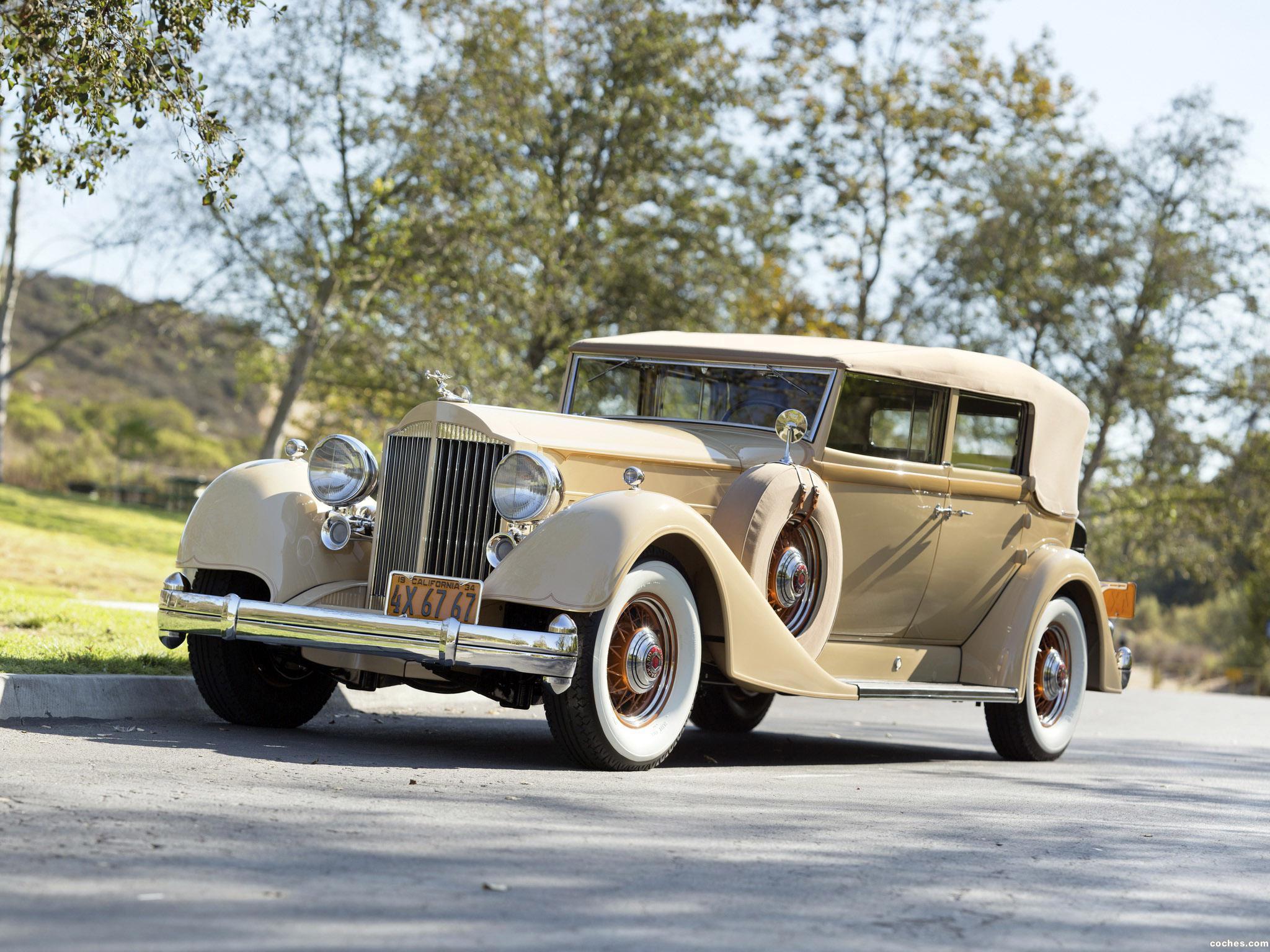 Foto 0 de Packard Twelve Convertible Sedan 1934