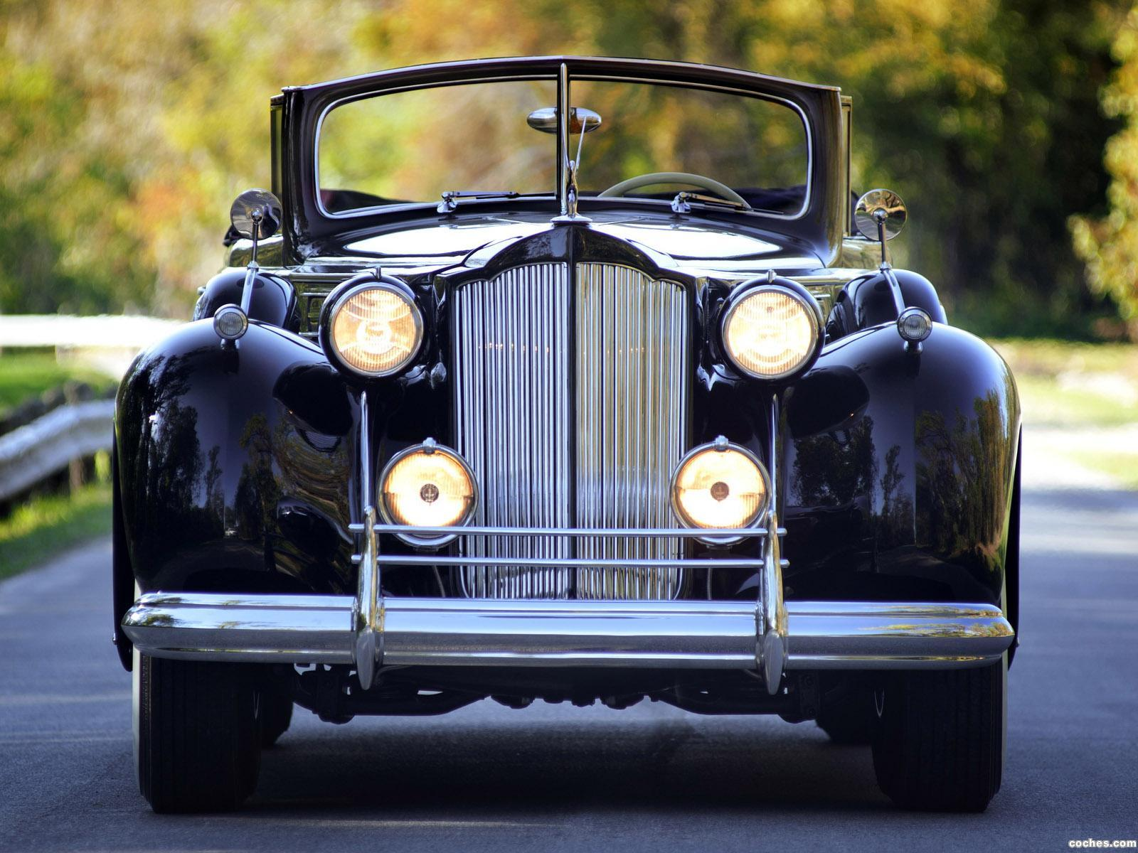 Foto 0 de Packard Twelve Convertible Sedan 1938