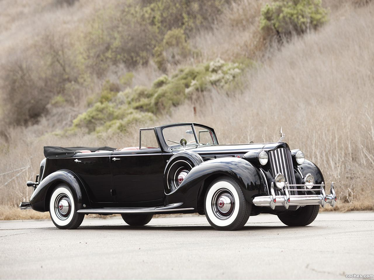 Foto 0 de Packard Twelve Convertible Sedan 1939