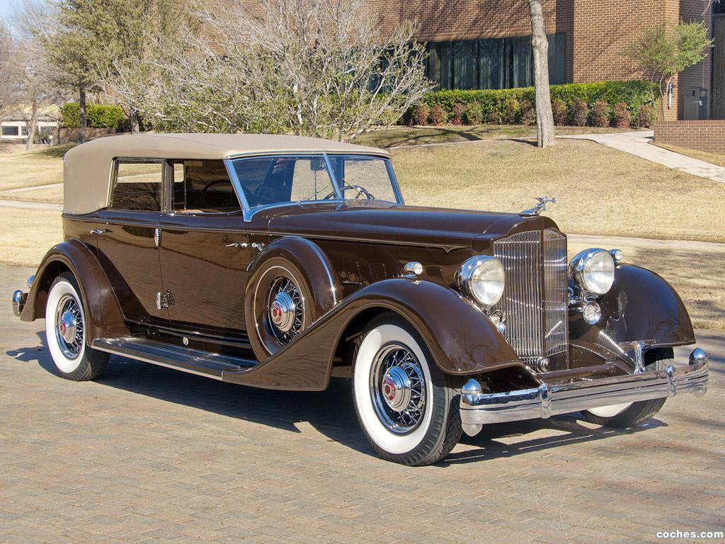 Foto 0 de Packard Twelve Convertible Sedan by Dietrich 1934