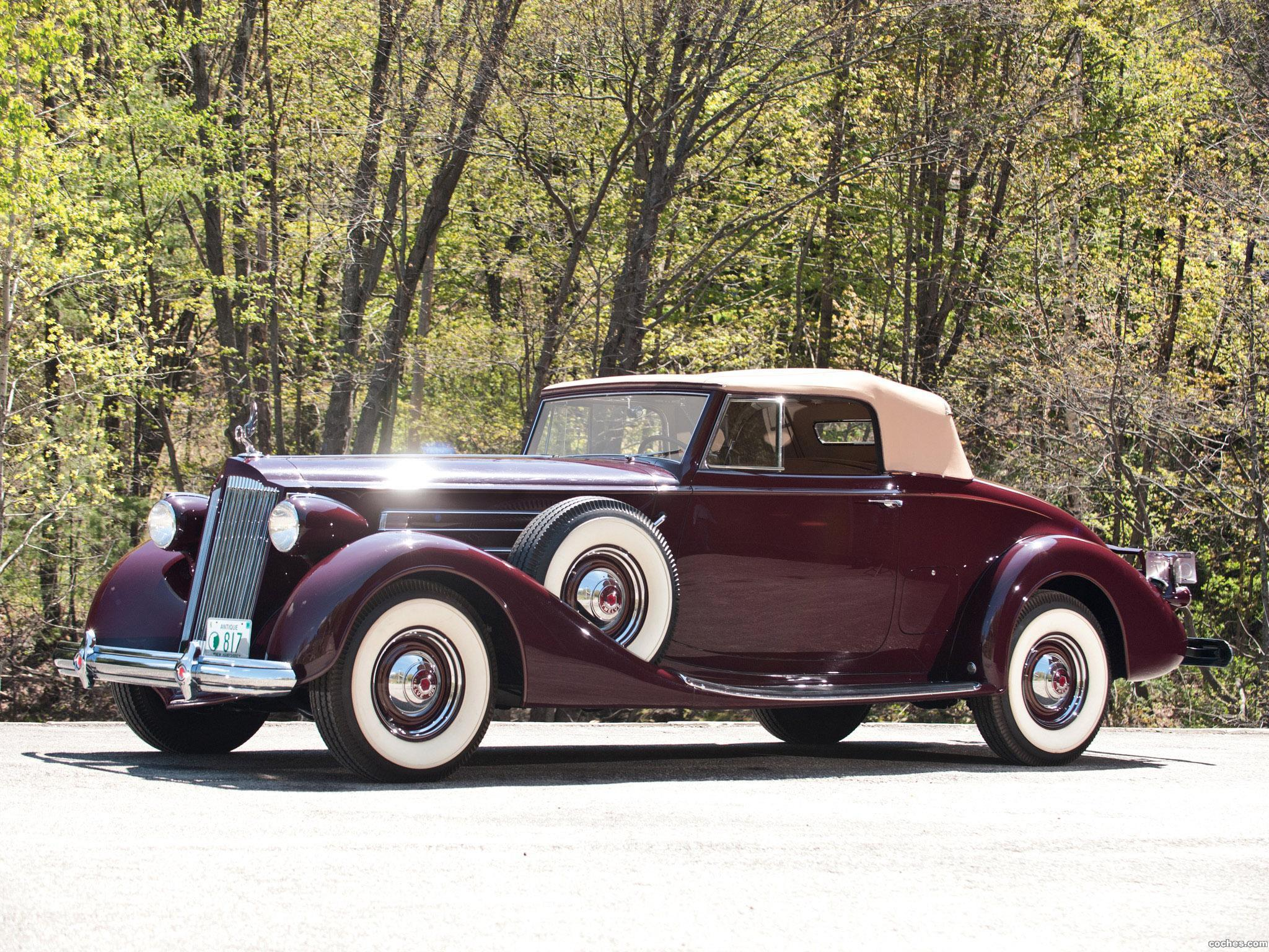Foto 0 de Packard Twelve Convertible Victoria 1937