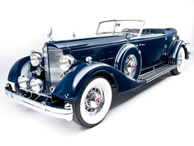 Ver foto 1 de Packard Twelve Convertible Victoria by Dietrich  1934