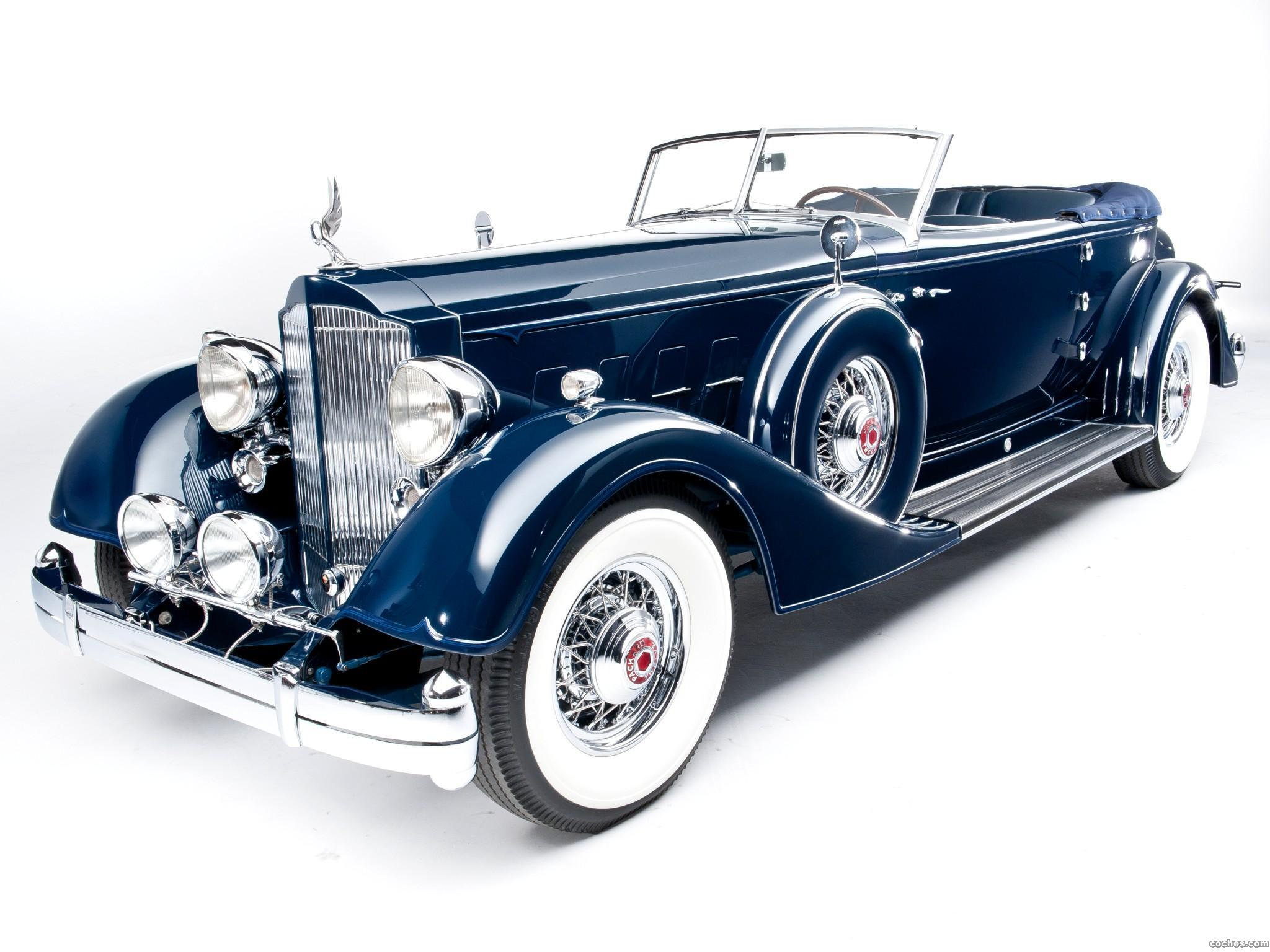 Foto 0 de Packard Twelve Convertible Victoria by Dietrich  1934