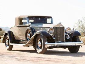 Ver foto 7 de Packard Twelve Coupe Roadster 1933