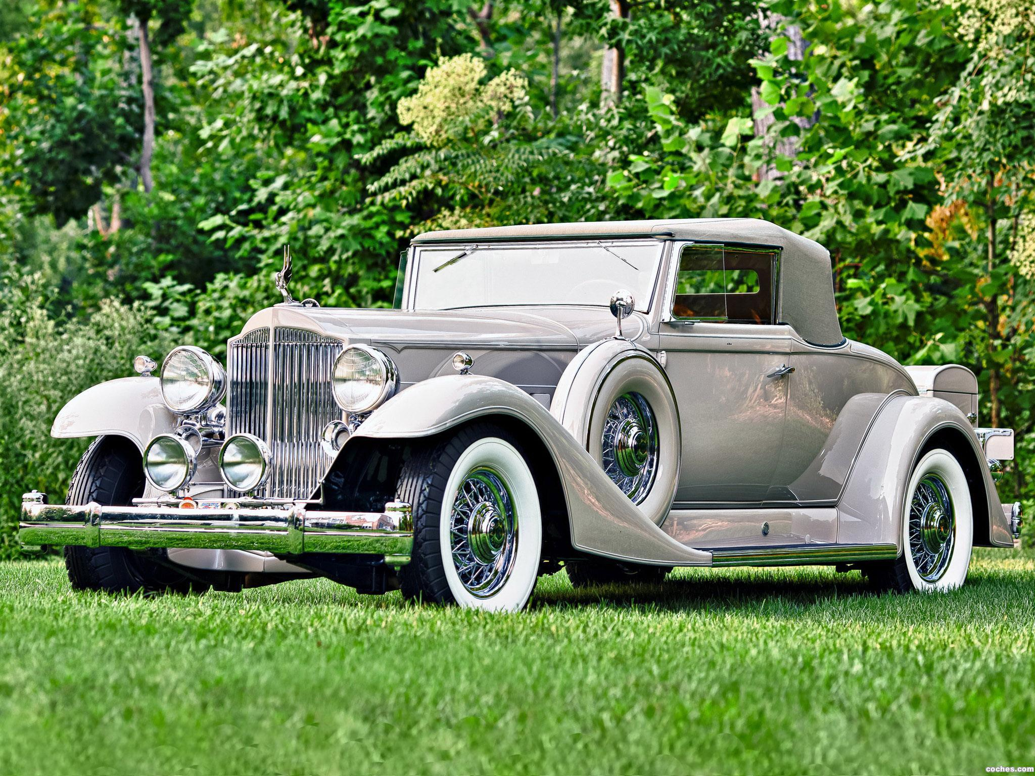 Foto 0 de Packard Twelve Coupe Roadster 1933