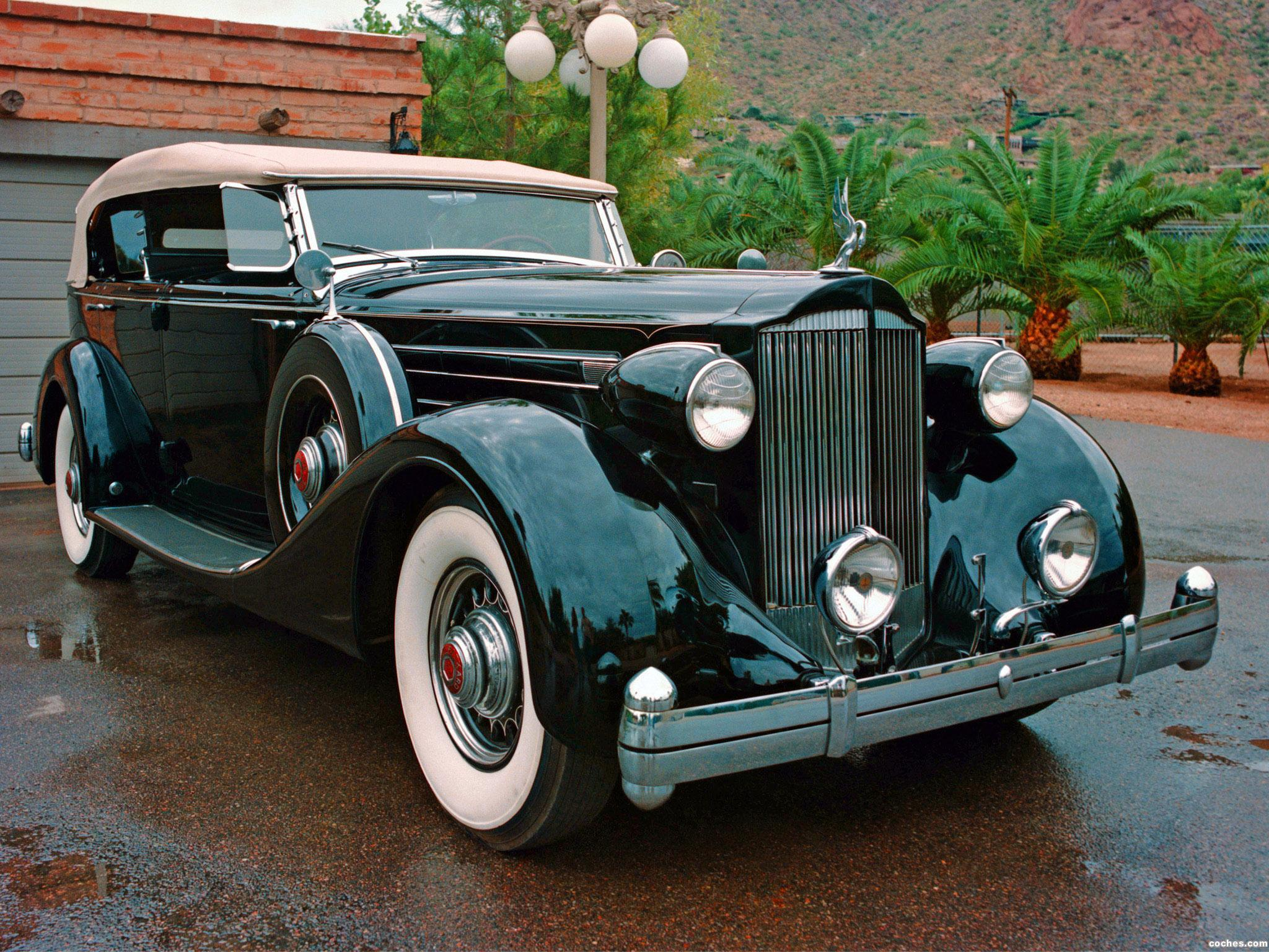 Foto 0 de Packard Twelve Dual Cowl Sport Phaeton by Dietrich 1935