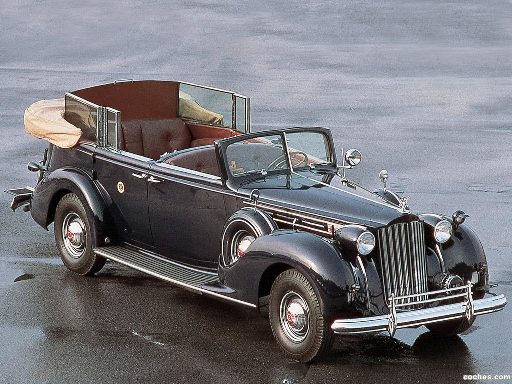 Foto 0 de Packard Twelve Presidential Convertible Sedan 1939