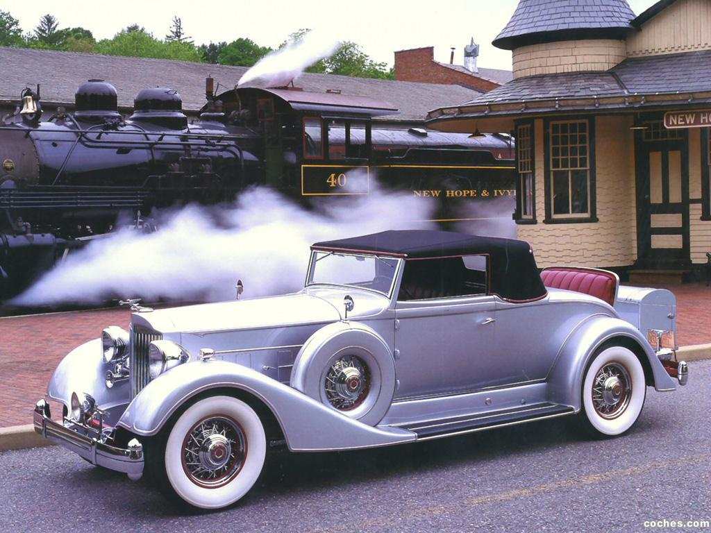 Foto 0 de Packard Twelve Roadster 1934