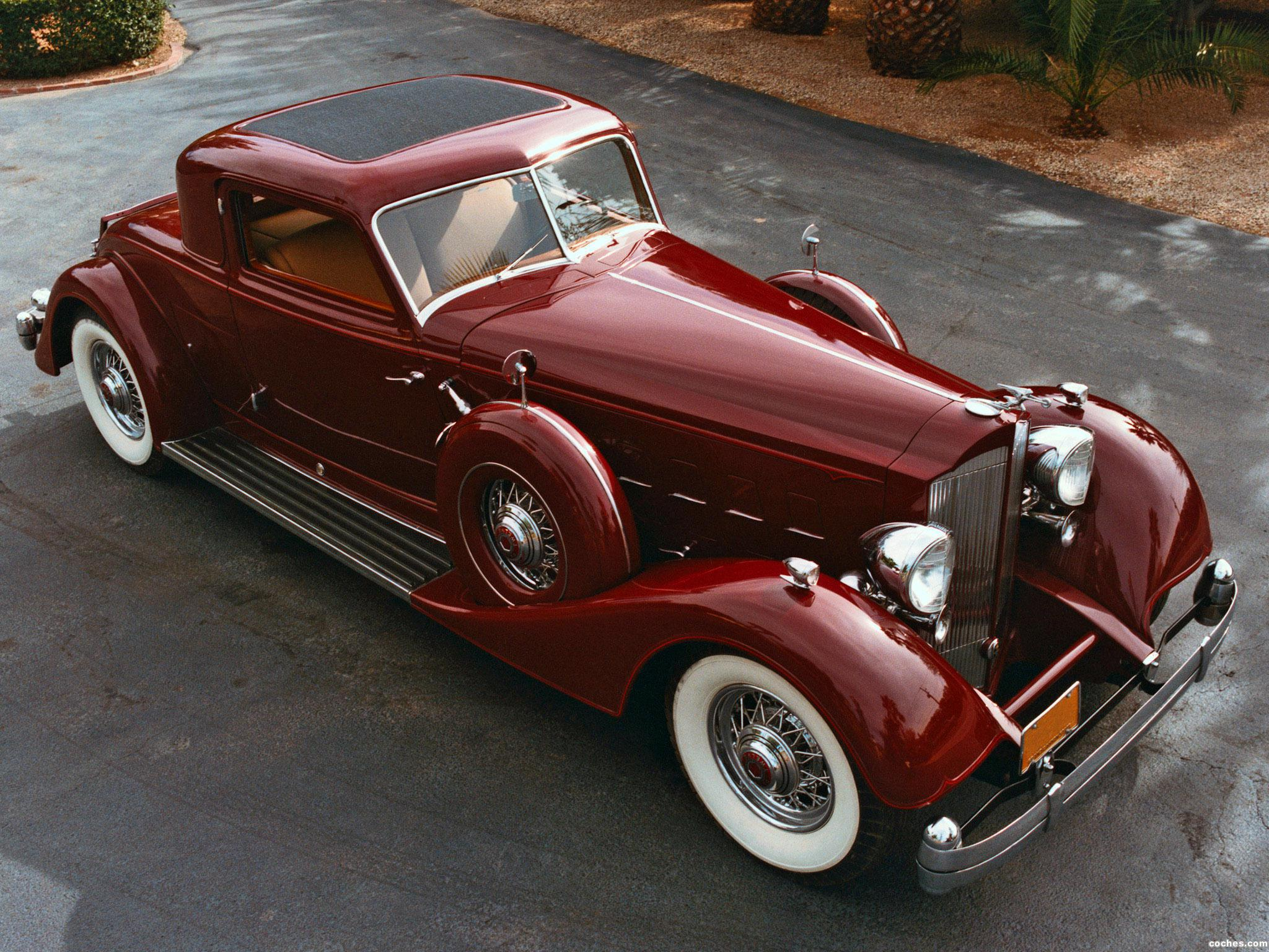 Foto 0 de Packard Twelve Sport Coupe by Dietrich 1934