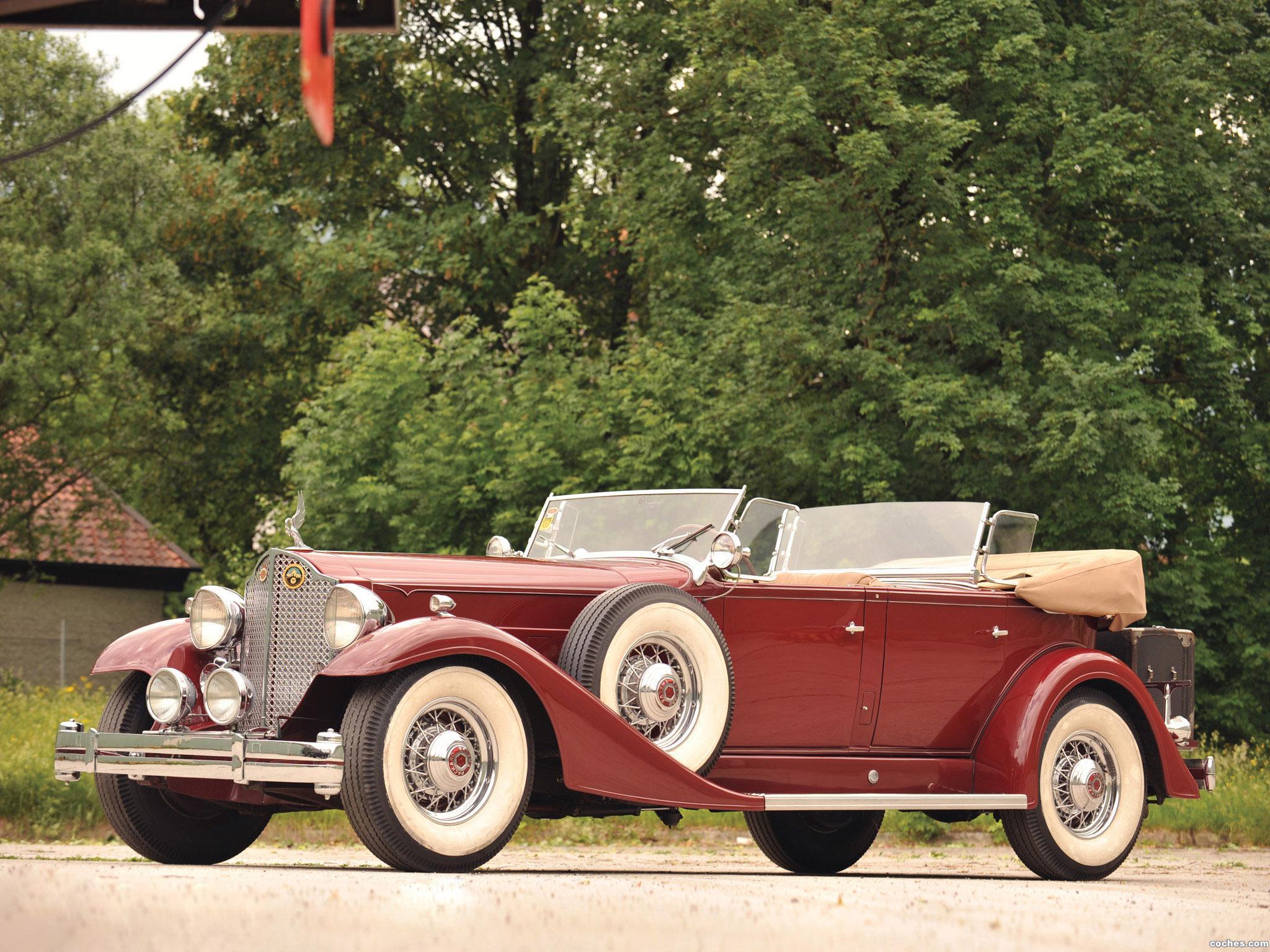 Foto 0 de Packard Twelve Sport Phaeton 1933