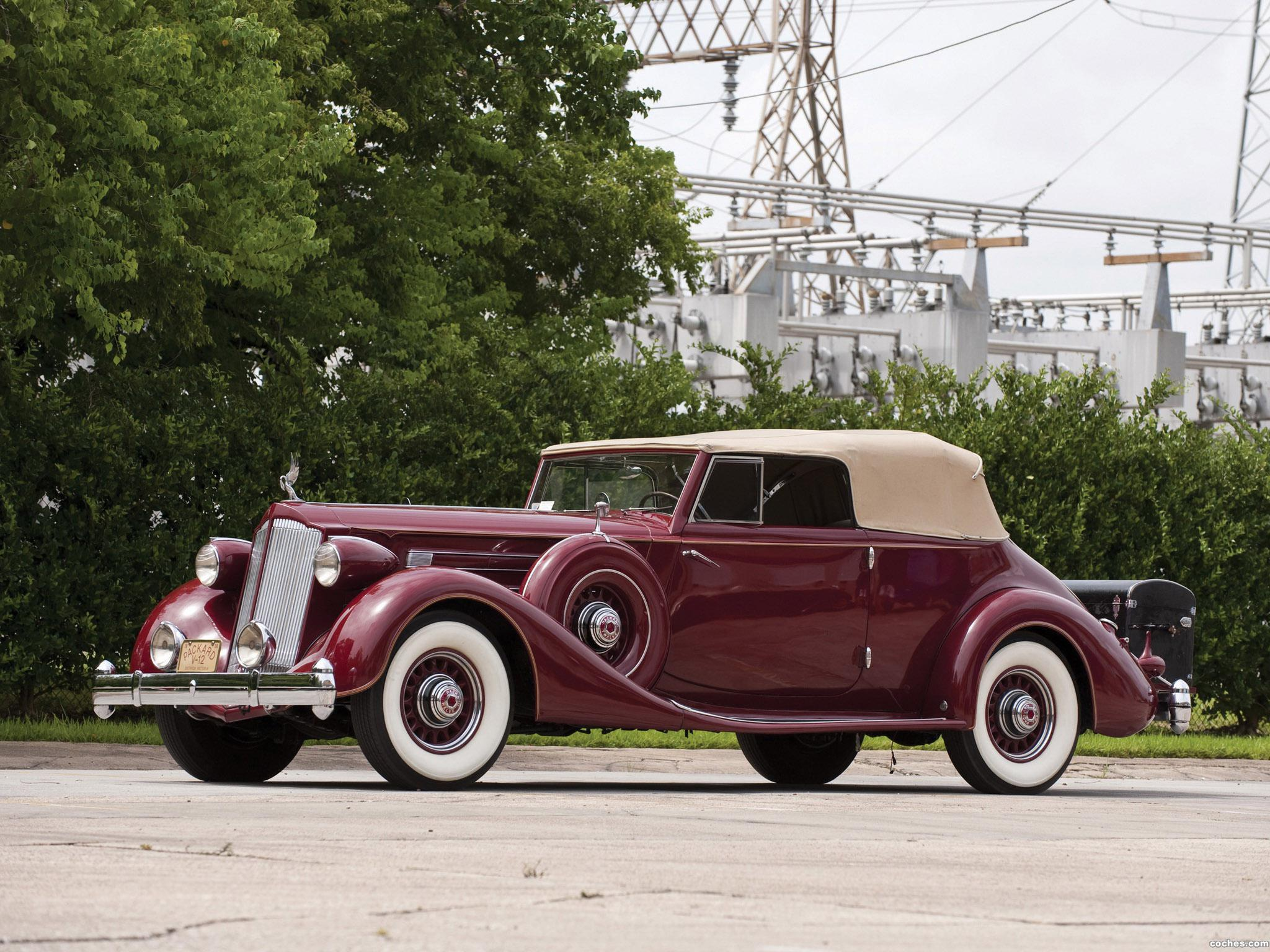 Foto 0 de Packard Twelve Victoria Convertible by Dietrich 1936