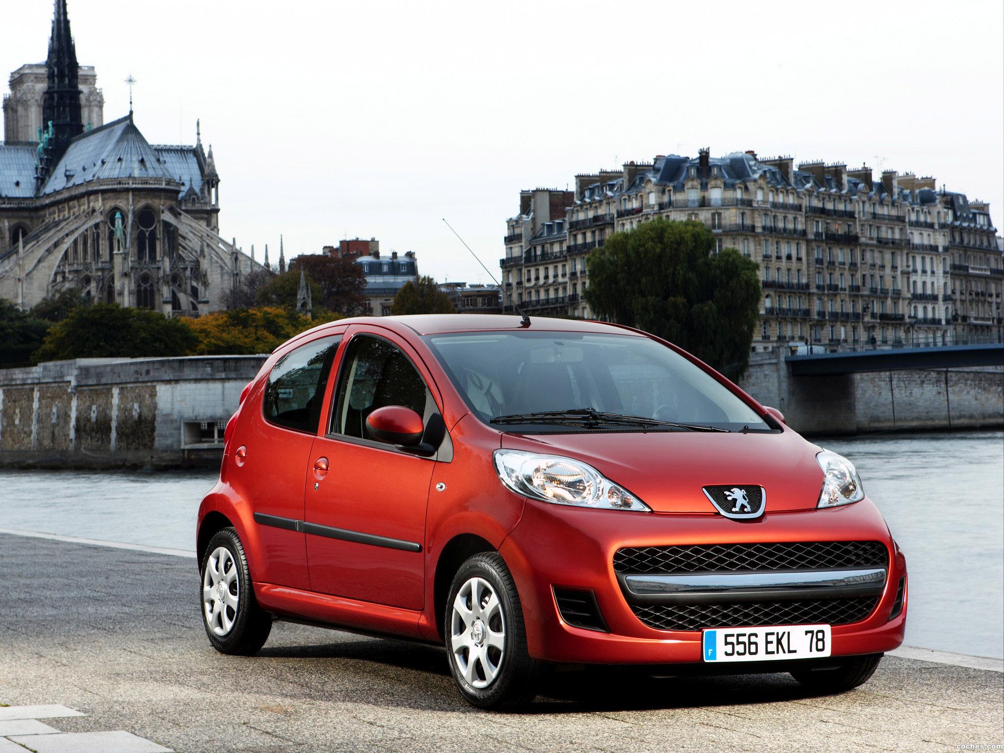 Foto 0 de Peugeot 107 5 puertas Facelift 2008