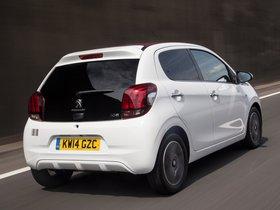 Ver foto 6 de Peugeot 108 Top! 5 puertas UK 2014