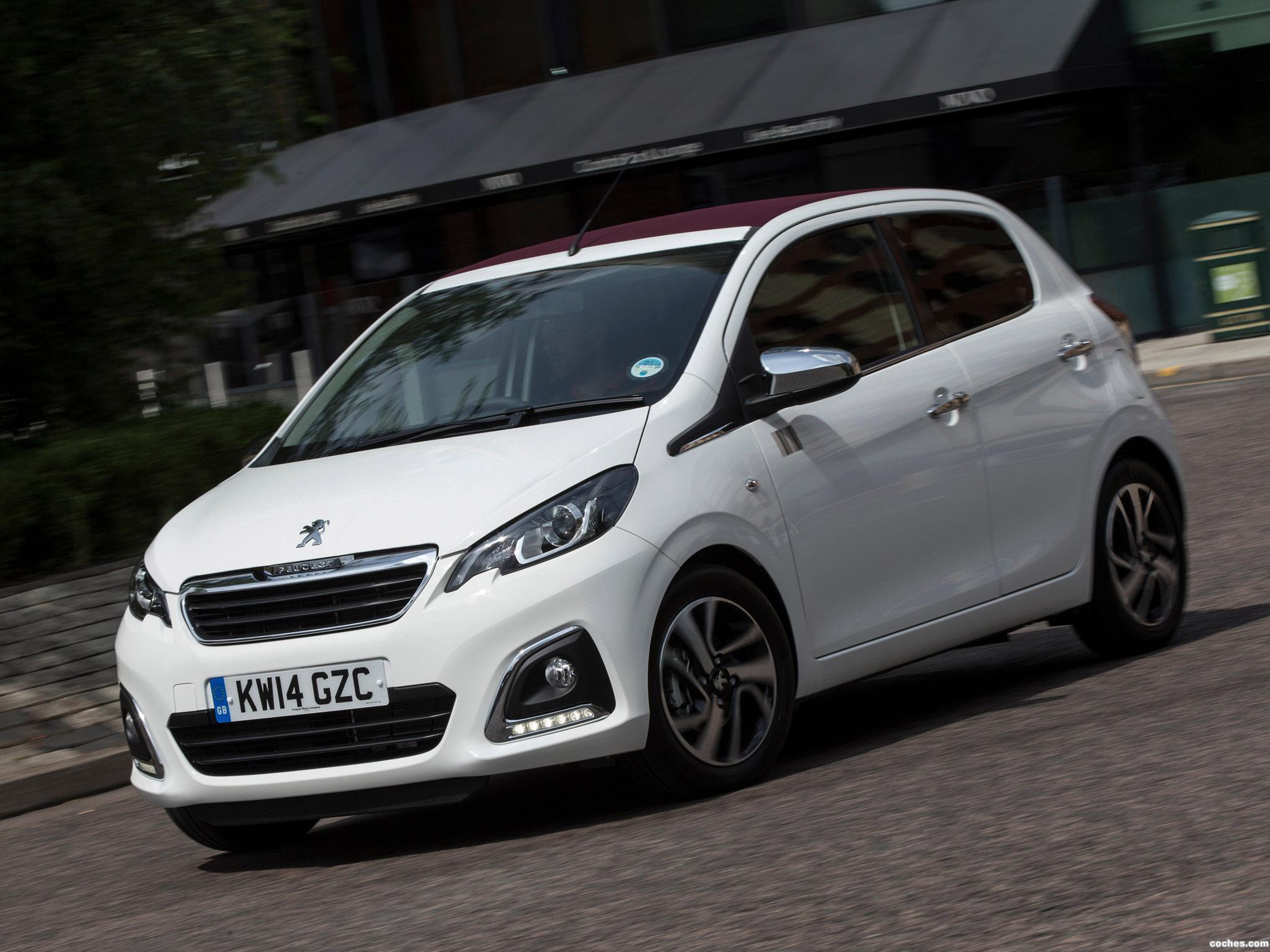 Foto 0 de Peugeot 108 Top! 5 puertas UK 2014