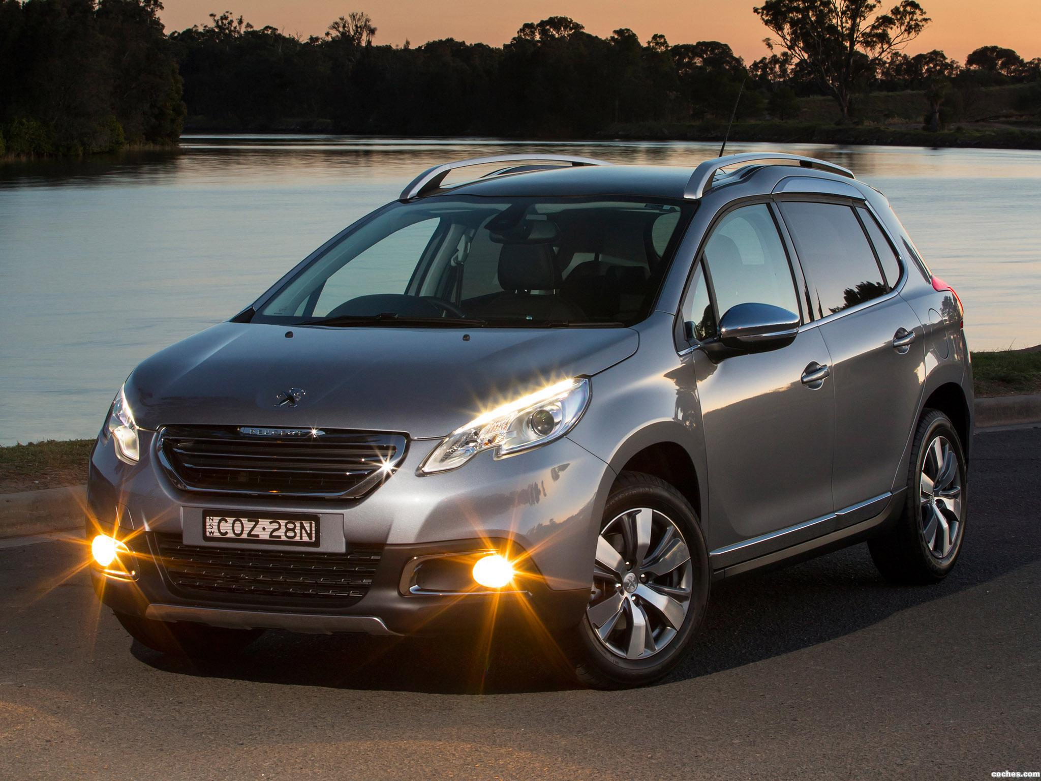 Foto 0 de Peugeot 2008 Australia 2013