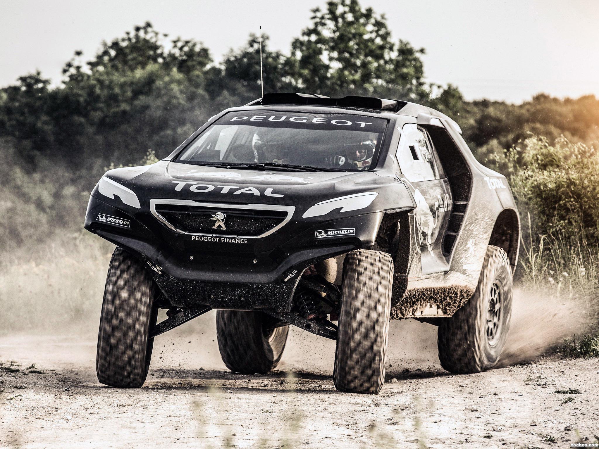 Foto 3 de Peugeot 2008 DKR 2014