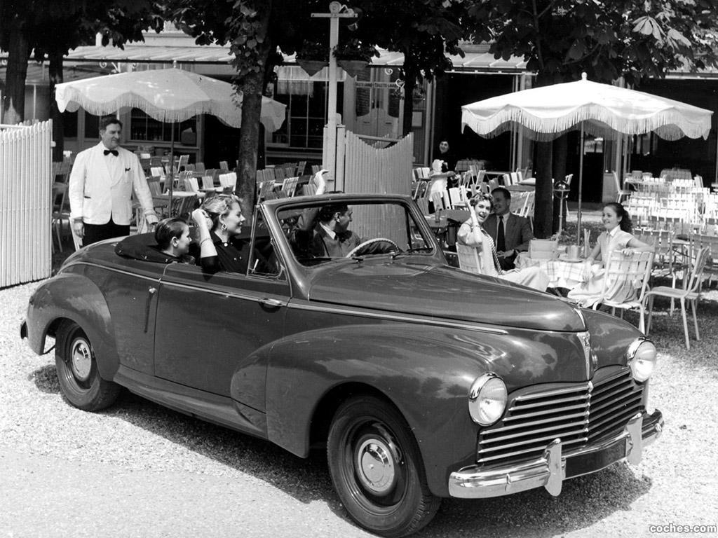 Фото Peugeot 203 cabrio 1951…