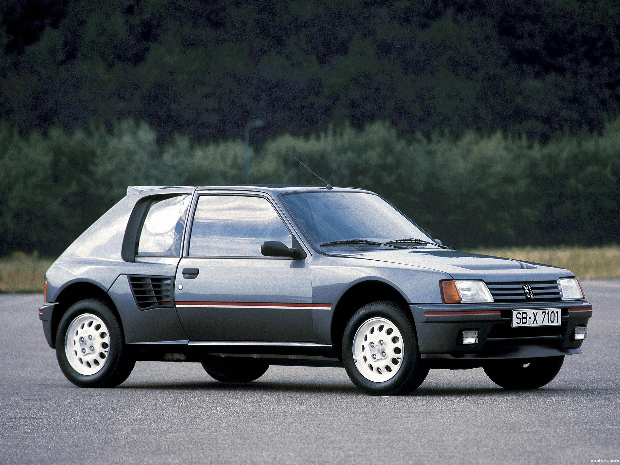 Foto 0 de Peugeot 205 T16 1984