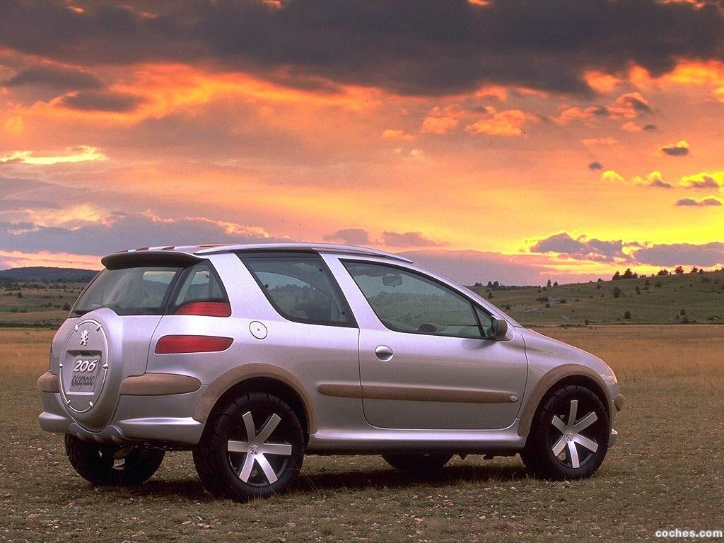Foto 0 de Peugeot 206 Escapade Concept 1998