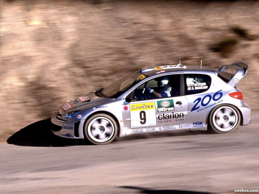 fotos de peugeot 206 wrc 2000. Black Bedroom Furniture Sets. Home Design Ideas