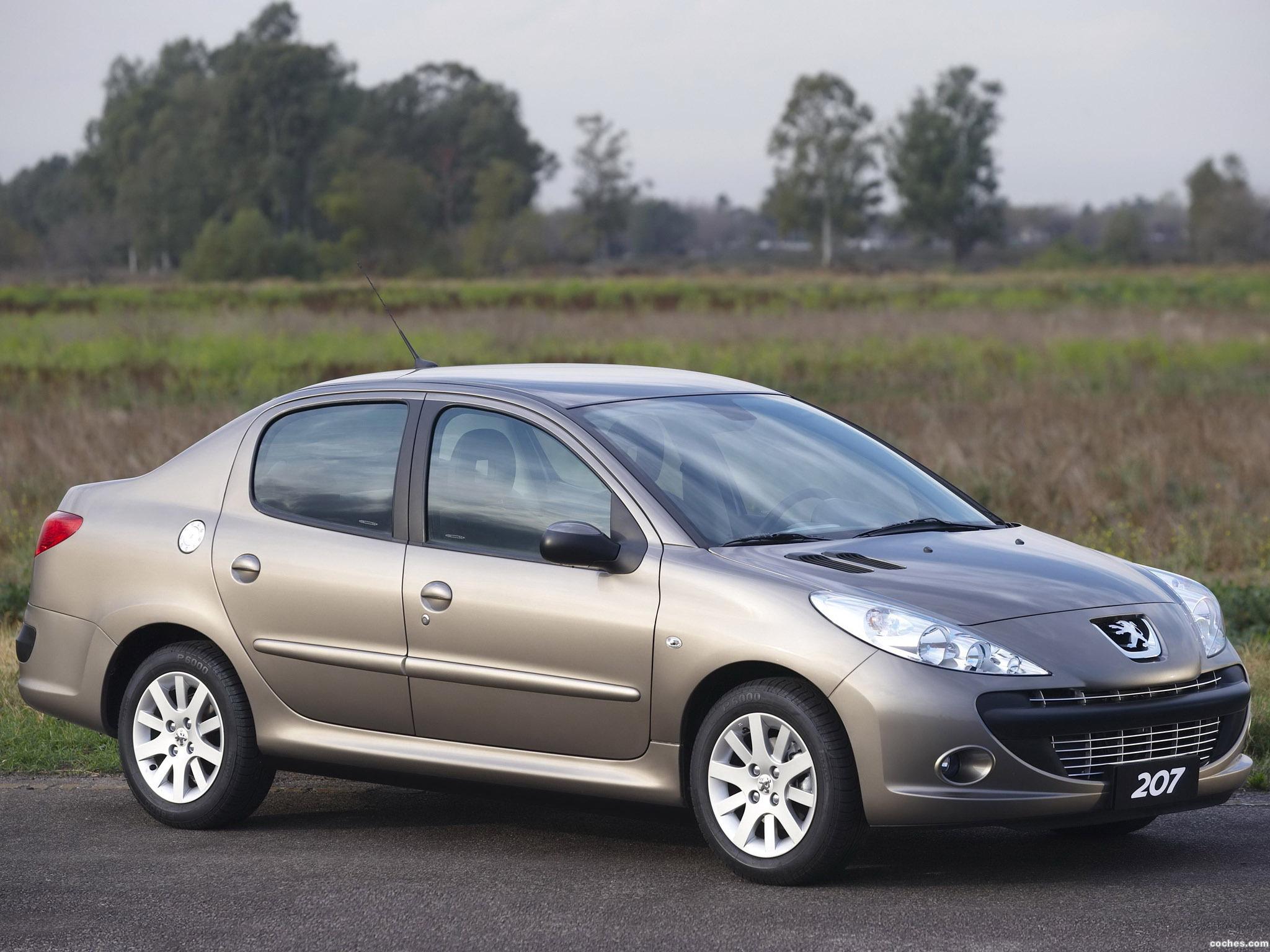 Foto 0 de Peugeot 207 Passion Brazil 2008