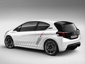 Ver foto 2 de Peugeot 208 HYbrid FE Concept 2013