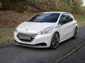 Ver foto 8 de Peugeot 208 HYbrid FE Concept 2013