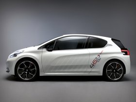 Ver foto 12 de Peugeot 208 HYbrid FE Concept 2013
