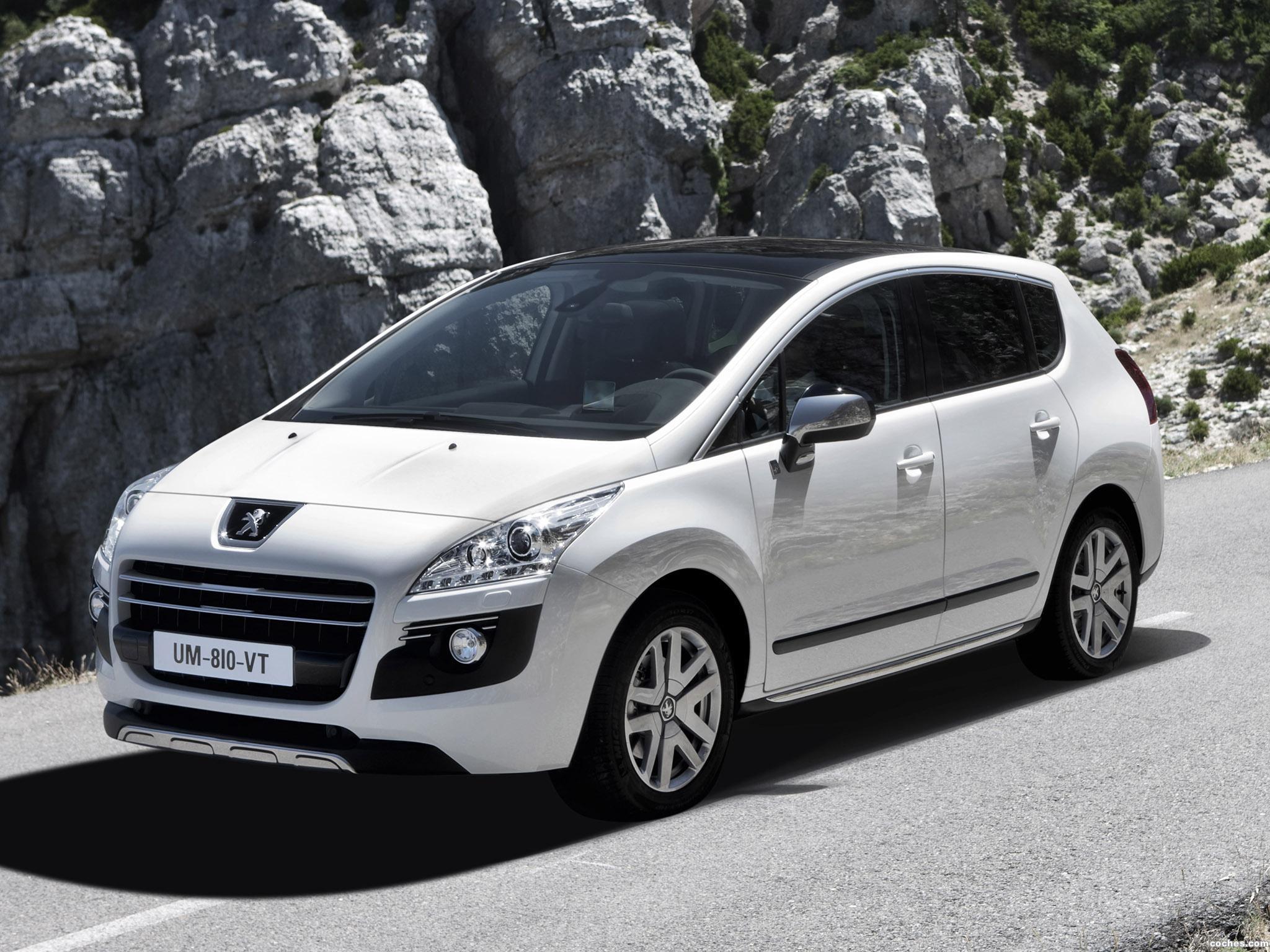 Foto 0 de Peugeot 3008 Hybrid4 2010