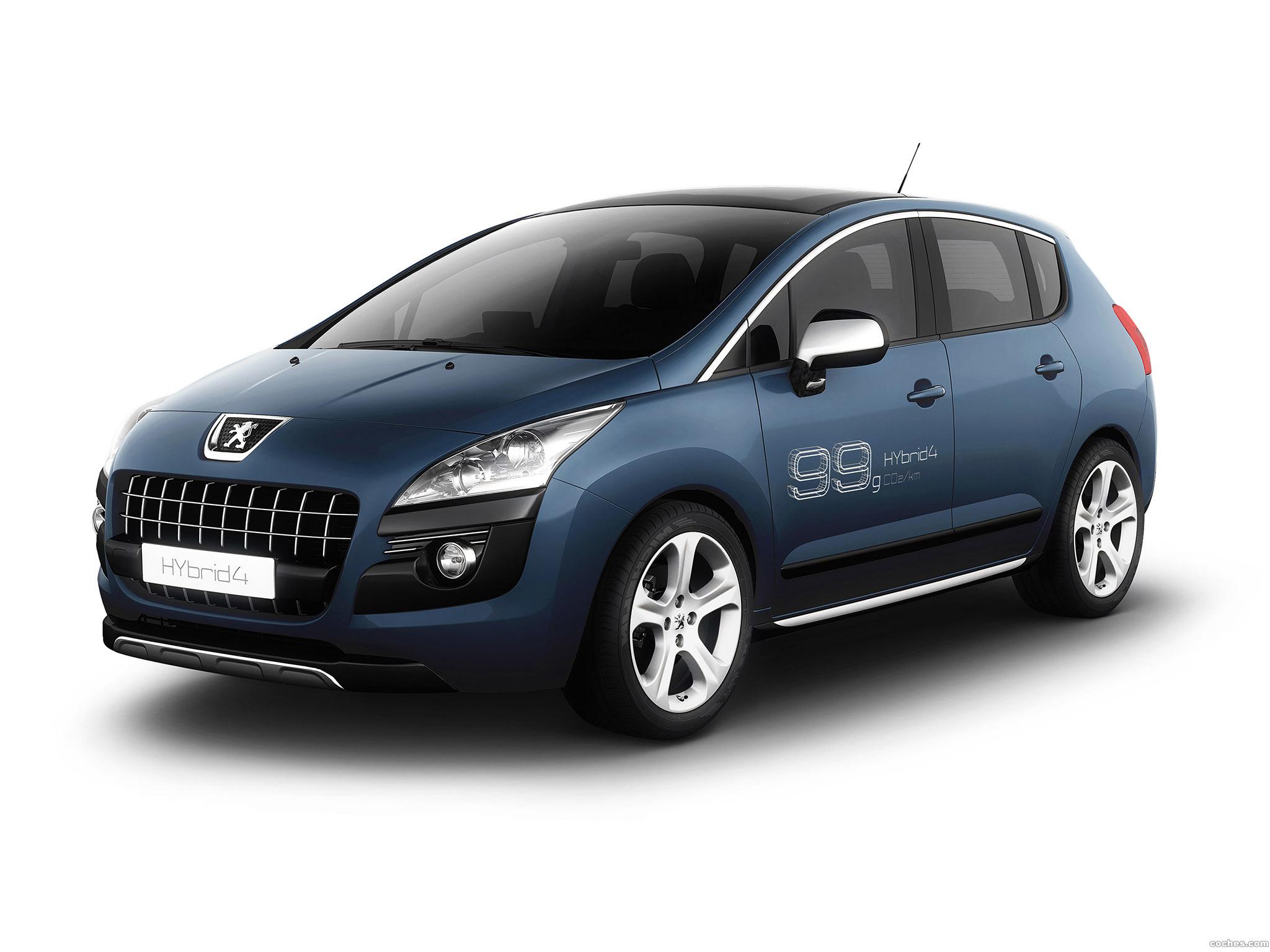 Foto 0 de Peugeot 3008 Hybrid4 2009