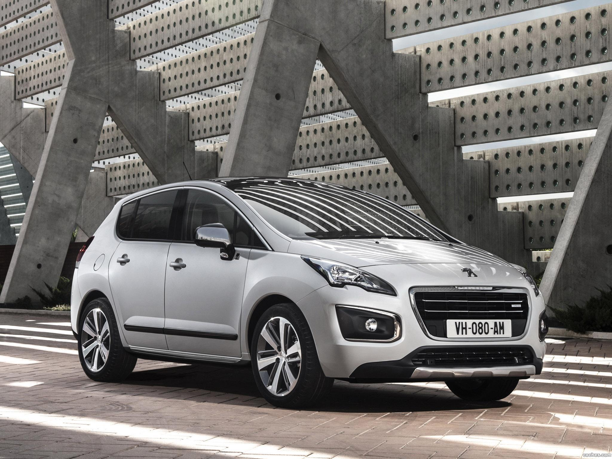 Foto 0 de Peugeot 3008 Hybrid4 2013