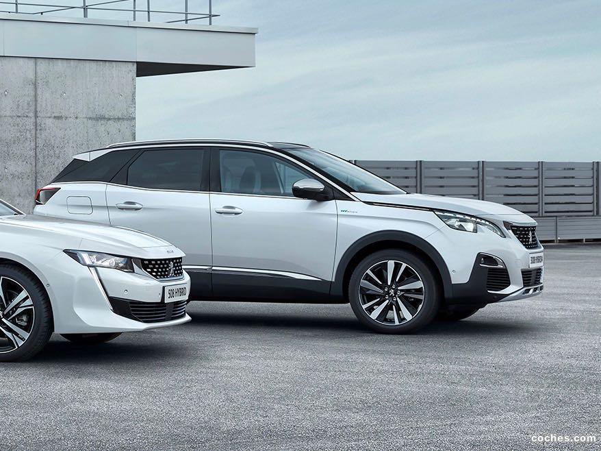 Foto 0 de Peugeot 3008 Hybrid4 2019