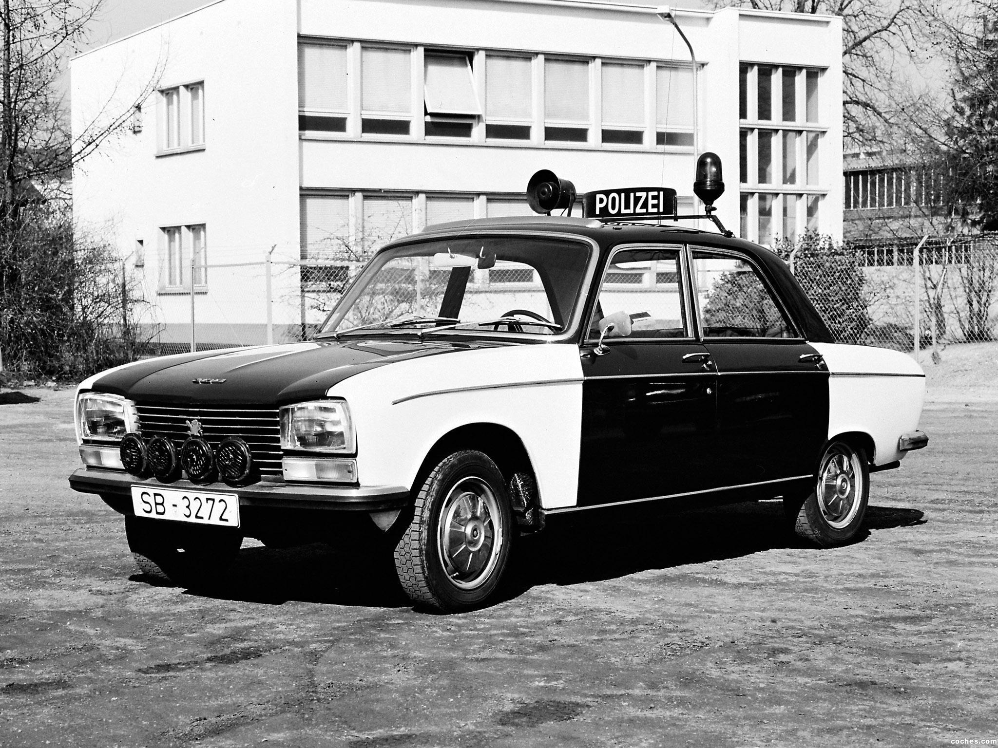 Foto 0 de Peugeot 304 Police Car 1969