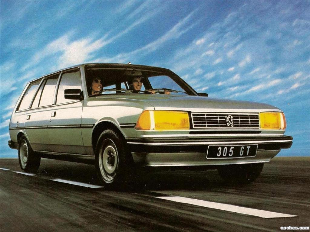 Foto 0 de Peugeot Break GT 1983