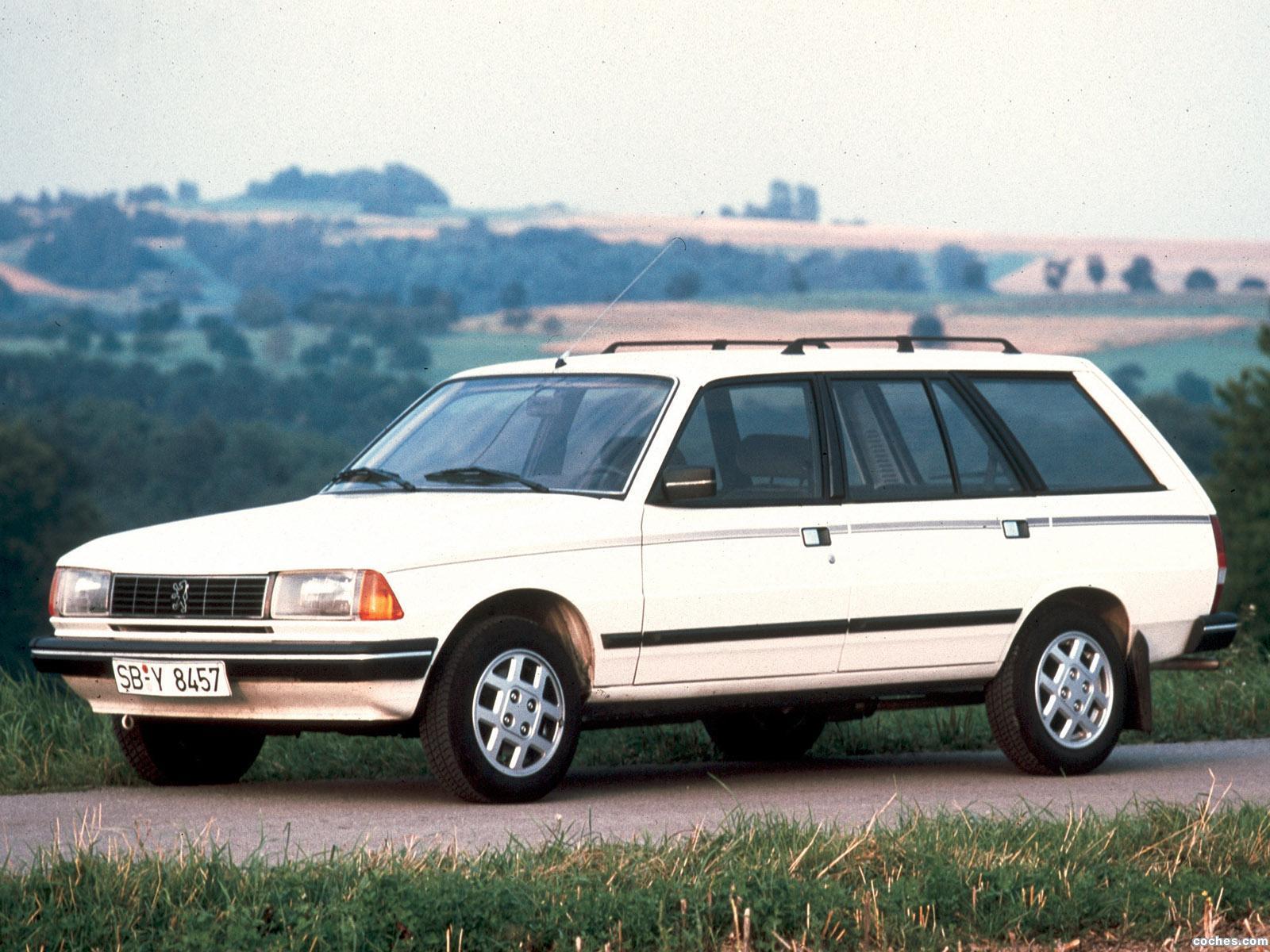 Foto 0 de Peugeot 305 Break GTX 1983