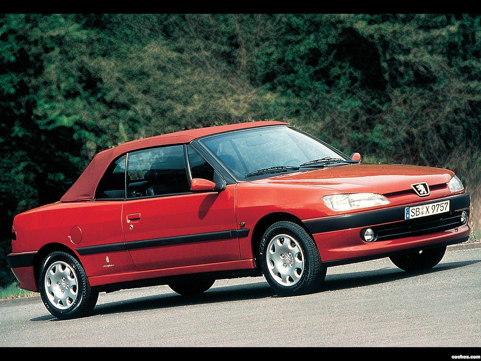 fotos de peugeot 306 cabriolet 1997 foto 13. Black Bedroom Furniture Sets. Home Design Ideas