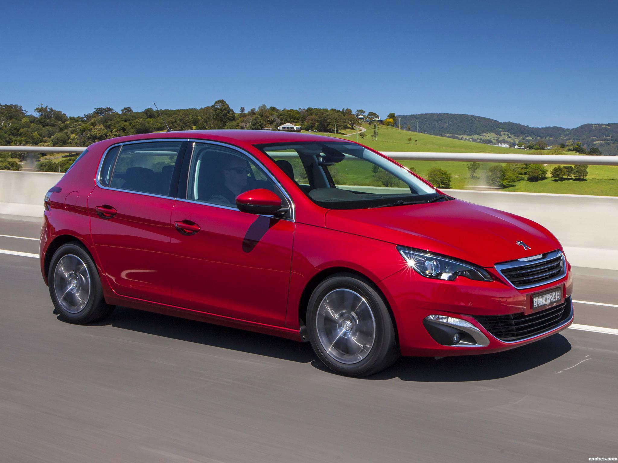 Foto 1 de Peugeot 308 Australia 2014